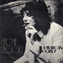 """Jamaican Jockey"" – Archie Legget single cover"