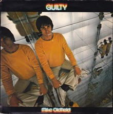 """Mike Oldfield – """"Guilty"""" single cover"""