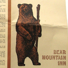 Bear Mountain Inn menus