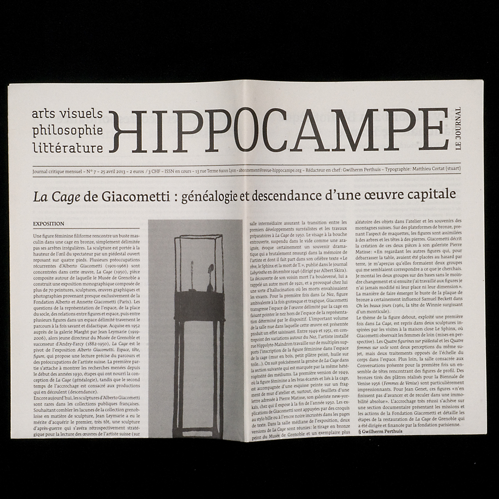 Hippocampe Nº7 Fonts In Use