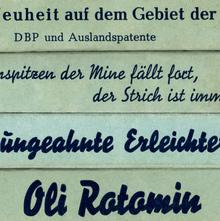 Oli Rotomin leadholder