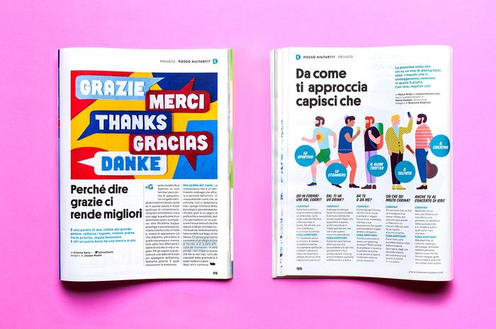Donna Moderna magazine 4