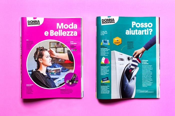 Donna Moderna magazine 8