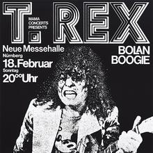 """T.<span class=""""nbsp"""">&nbsp;</span>Rex """"Bolan Boogie"""" tour posters"""