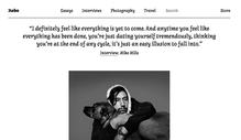 <cite>Hobo</cite> magazine website