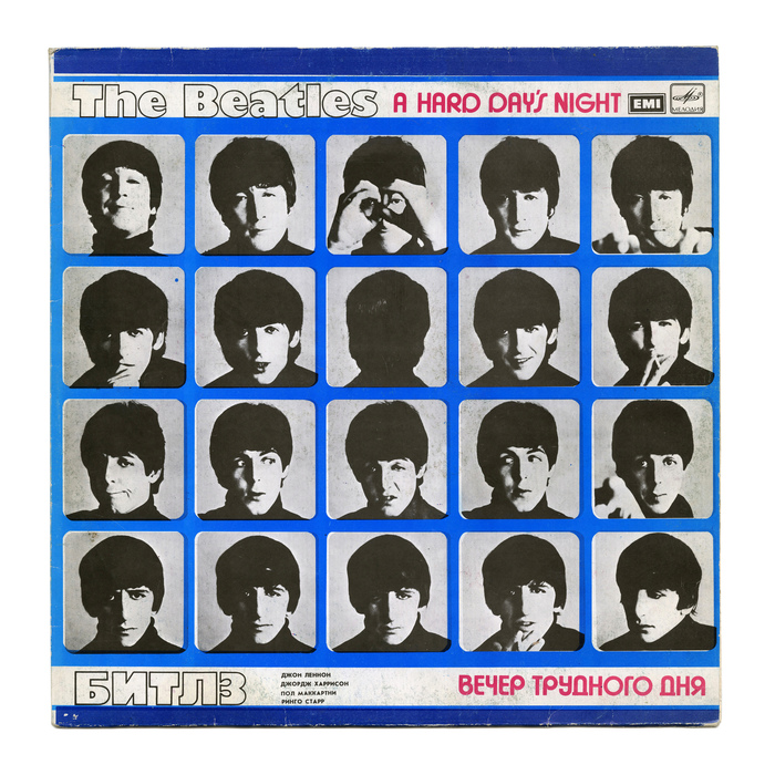 A Hard Day's Night by The Beatles, USSR edition