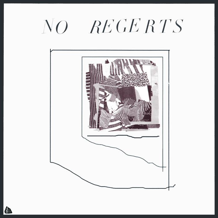 Album artwork for No Regerts (2013). Design: Jake Muilenberg