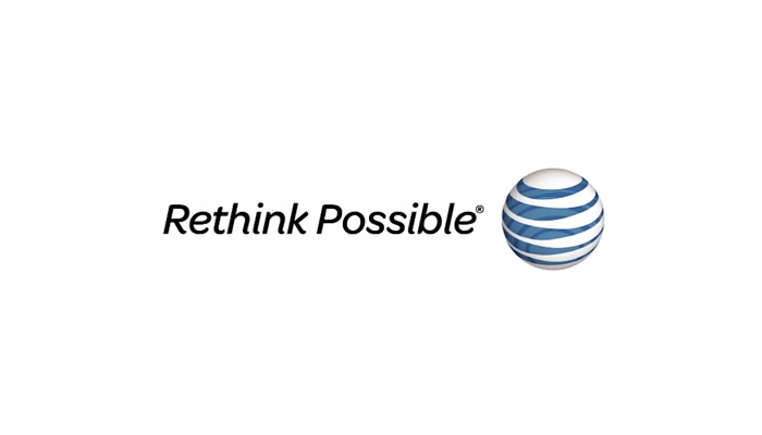 "For many years, AT&T's slogan was ""Rethink Possible"", set in Omnes Italic. This theme was introduced in 2010 and phased out sometime between 2014 and 2016."