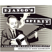 <cite>Django's Spirit – A Tribute To Django Reinhardt </cite>album art