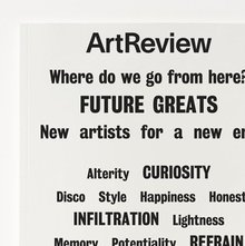 <cite>ArtReview</cite>, Jan–Feb 2017