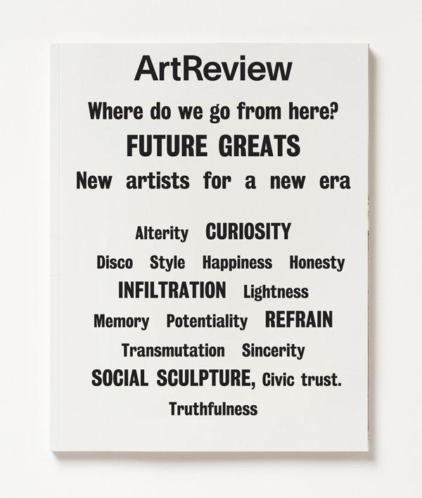 ArtReview, Jan–Feb 2017 1