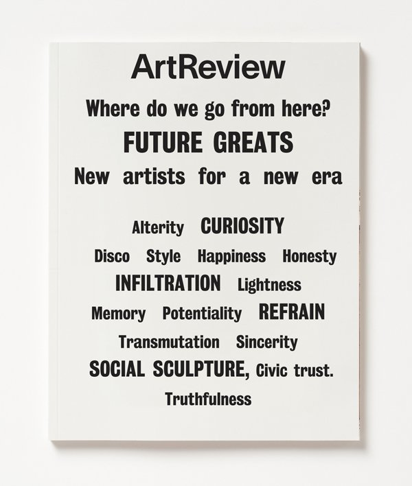 ArtReview, Jan–Feb 2017 1