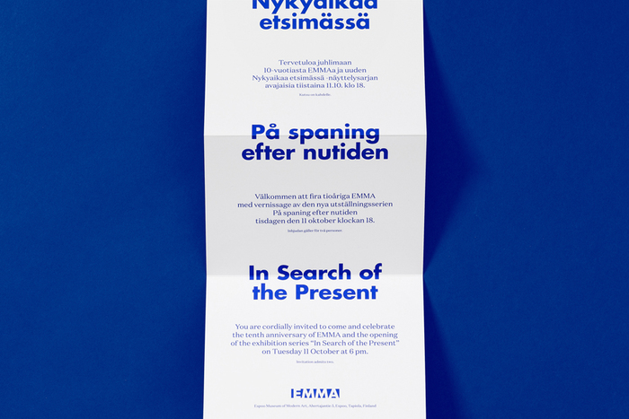 In Search Of The Present at EMMA 3