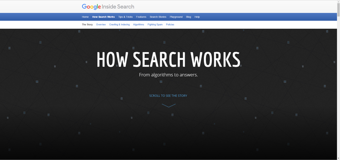 """How Search Works"" by Google 1"