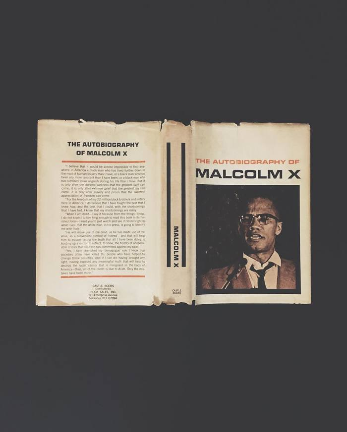 The Autobiography of Malcolm X, Castle Books edition 1