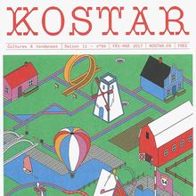 <cite>Kostar</cite> magazine, No. 54