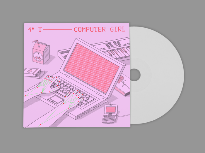 Computer Girl by 4e T 2