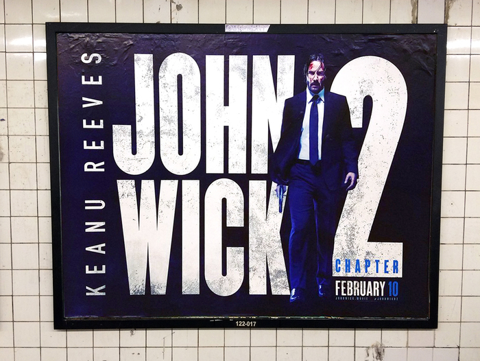 Subway poster, New York