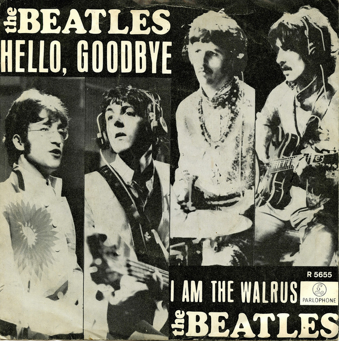 """Hello, Goodbye"" / ""I Am The Walrus"" – The Beatles 1"