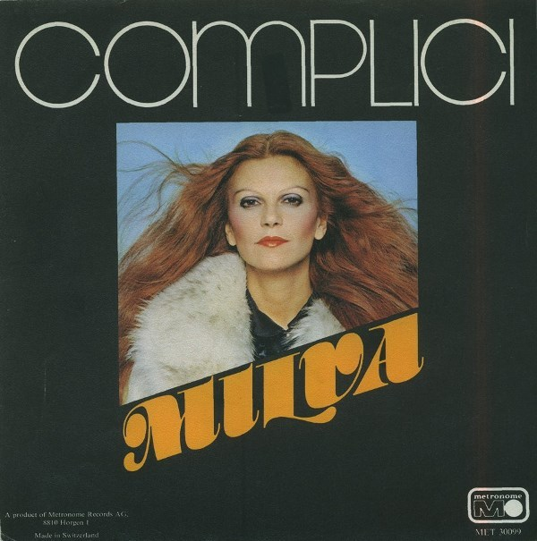 "Milva – ""Complici"" / ""Binario 3"" single sleeve"
