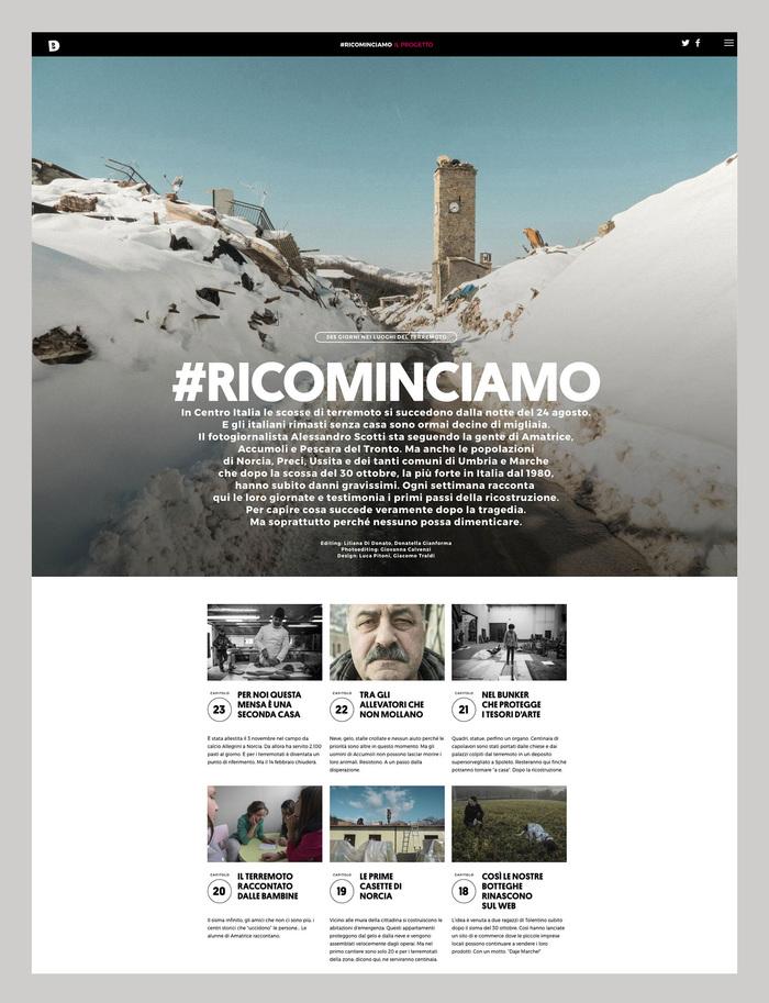 #RICOMINCIAMO 3