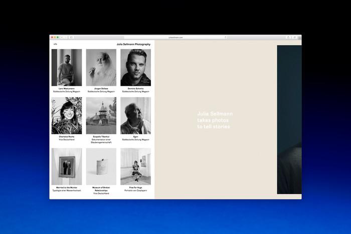 Visual identity for Julia Sellmann Photography 3