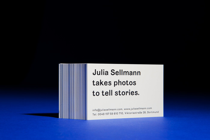 Visual identity for Julia Sellmann Photography 1