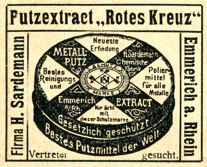 """Ad for concentrated detergent """"Rotes Kreuz"""""""