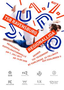 TSB Ravensburg Judo poster 2017