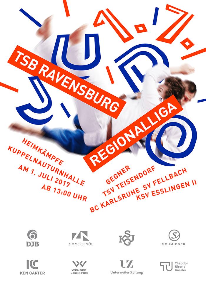 TSB Ravensburg Judo poster 2017 1
