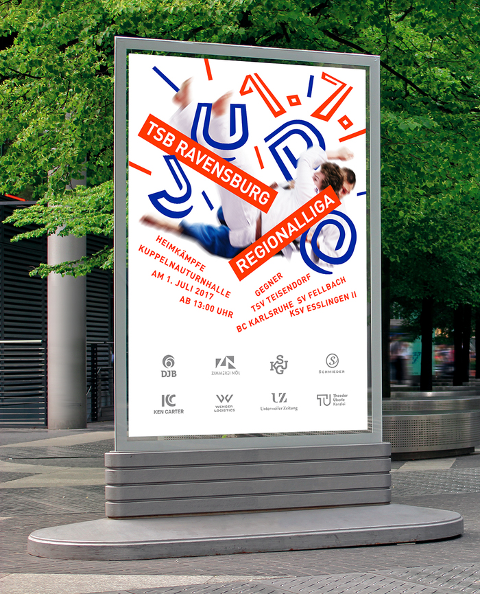 TSB Ravensburg Judo poster 2017 2