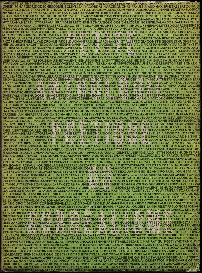 Petite Anthologie Poétique du Surréalisme