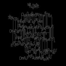 """""""Wort und Schrift"""" visual poem"""