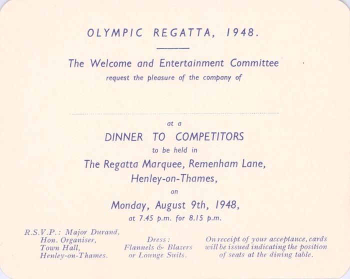 1948 Olympics Regatta Riverside Concert, Henley On Thames 2