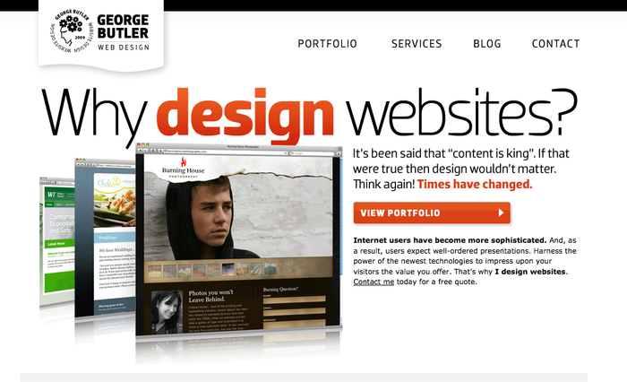 George Butler Web Design 3