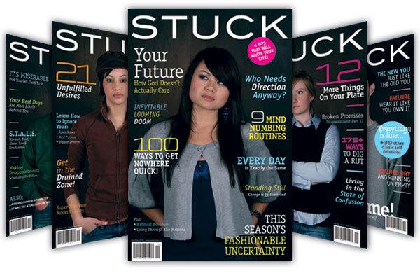 Stuck – mock magazine for NewSpring Church