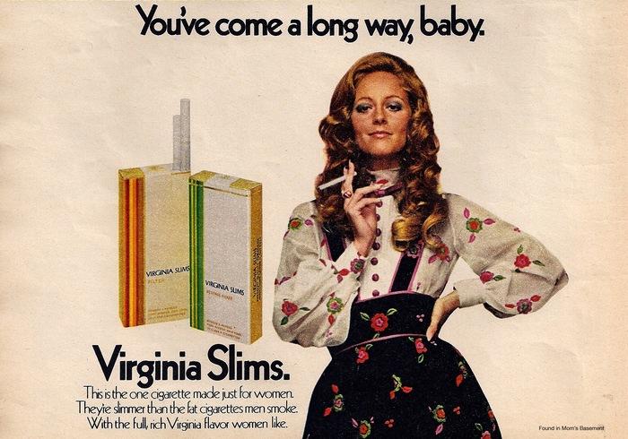 Virginia Slims ad