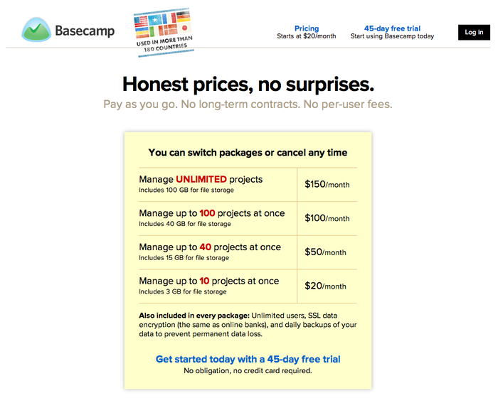 Basecamp 2 Product Site 3