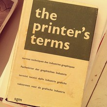<cite>The Printer's Terms</cite>, 2nd Edition