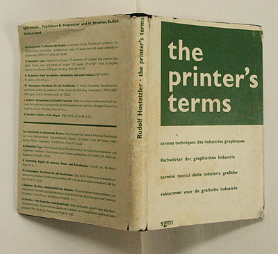 The Printer's Terms, 2nd Edition 4