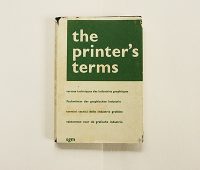 The Printer's Terms, 2nd Edition 5