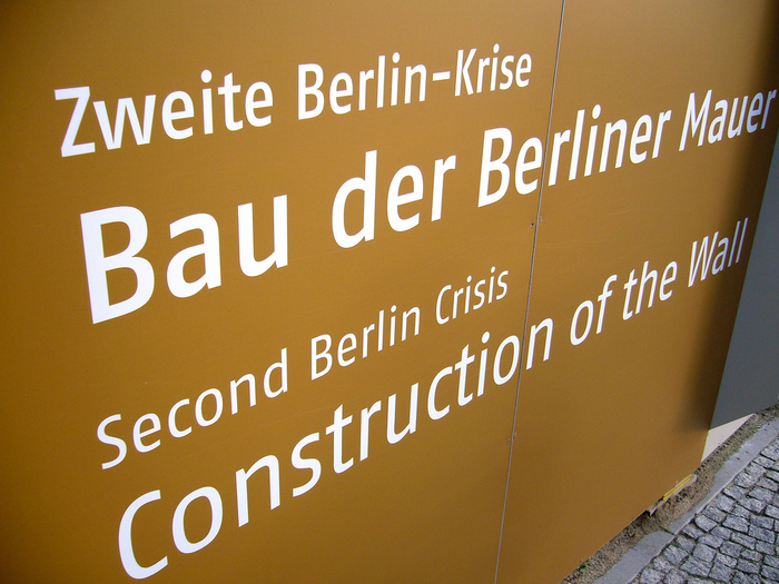Berlin Wall Timeline Exhibition 2