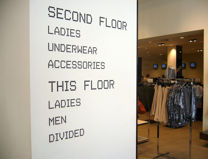 H&M In-store Signage, 2006 2