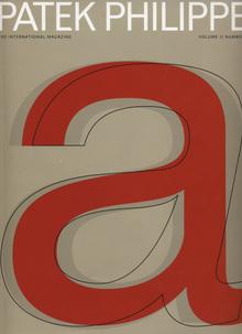 <cite>Patek Philippe</cite> magazine, Vol. II, No. 1