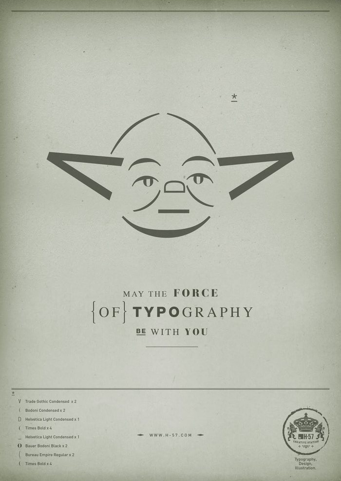 The Force of Typography 2