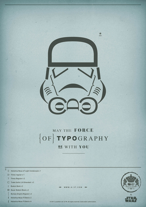 The Force of Typography 3