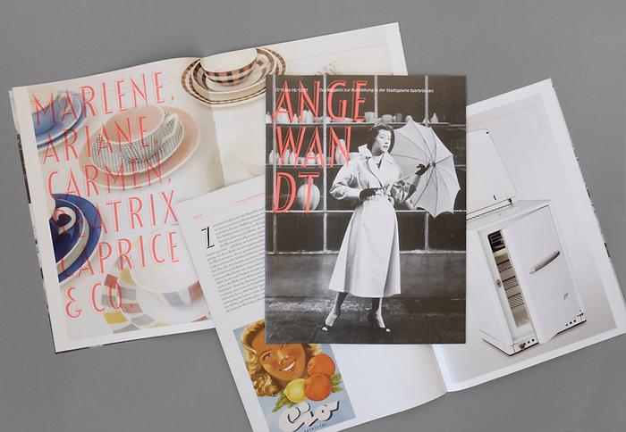 Angewandt exhibition materials 1