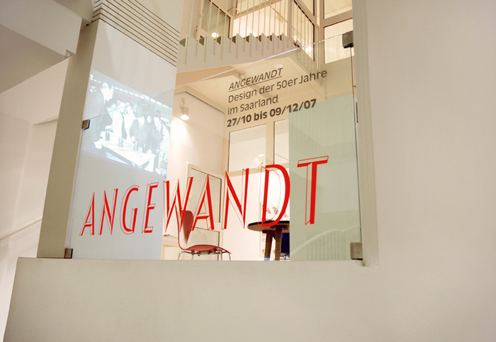 Angewandt Exhibition Materials 2