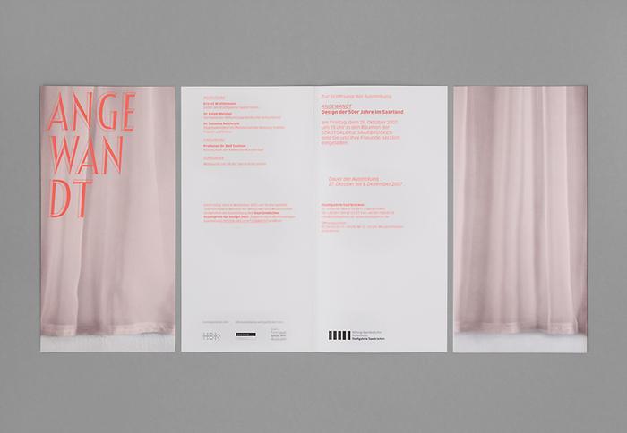 Angewandt exhibition materials 3