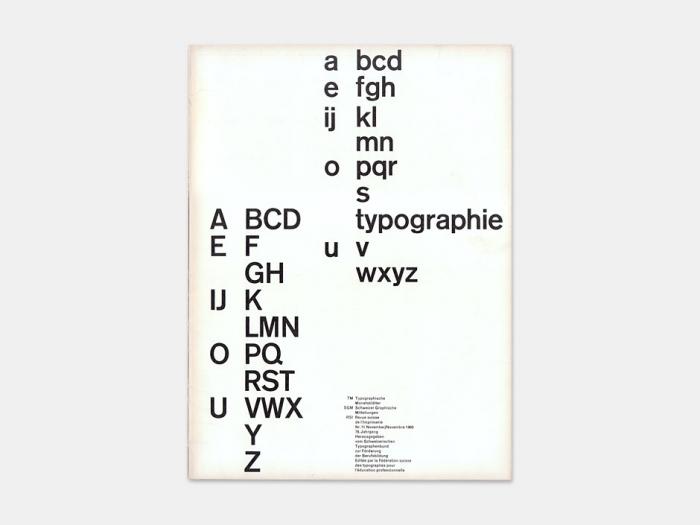 Typographische Monatsblätter, No. 11 2
